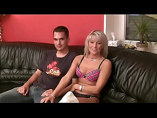 Step mom shows virgin son how to have sex