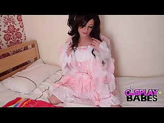 Cosplay babes naughty british kawaii girl