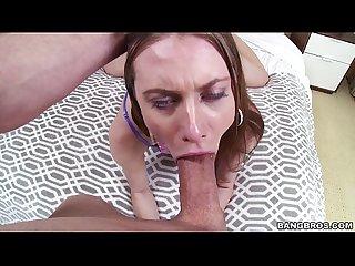 Fucking anya olsen in the throat pov
