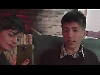 Amaranta hank hace anal con un chico virgen