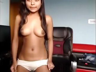 Desi Girl play with vib