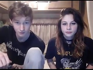 Teen couple enjoying blowjob and fuck seemeliveoncam com
