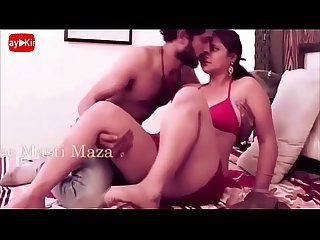 Bhabi sexy Honeymoon hot red bra