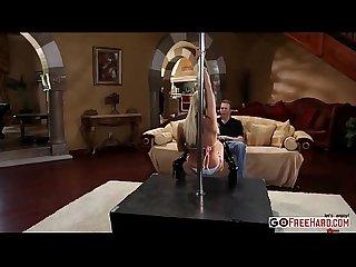 Smoking hot tasha reign Pipe dancer for fucker