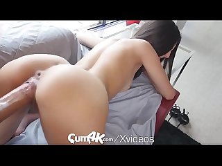 Cum4k latina pussy drenched in oozing cum multiple Creampies