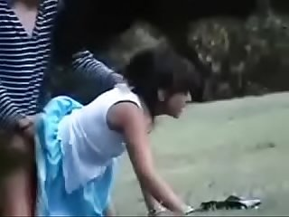 Cute girl dogy syte fucking outdoor park new