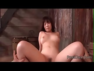 Wakaba Onoue�sucks dick and gets it deep in her wet cunt�