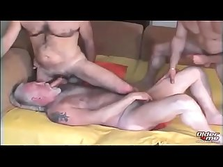 Gay daddy two ranch sucking and fucking young black
