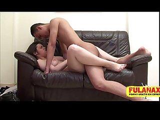 La primera vez de Marta y bryan mi debut porno