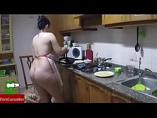 Eating your pussy and ass in the kitchen raf013
