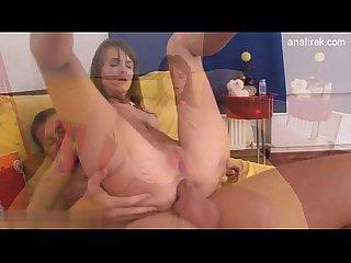 Sexy pussy gangbang creampie