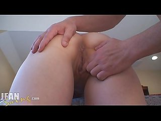 Amateur milf gets two creampie loads in her pussy
