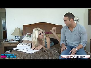 Tempting blondie Jazy Berlin fucking