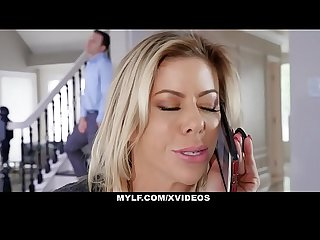 Mylf college prep cougar alexis fawx fucks a lucky stud