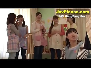 Sex with six Japanese teen girls