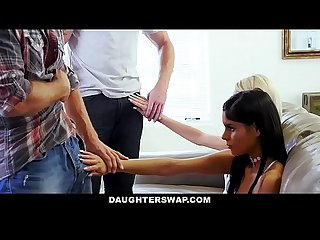 Daughterswap hot daughters hypnotized by dads