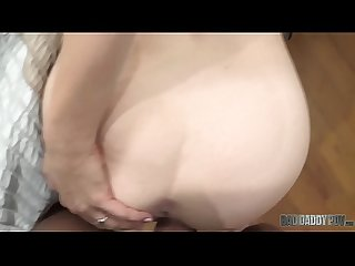 Horny step daughter karla kush finds out about dad S dirty little secret excl