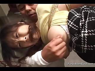 Asian Submissive Suspended Hogtied And Vibed To Ecstasy