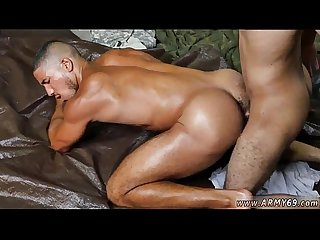 Gay army fetish and video gay suck blowjob in army fight club