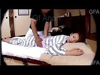 Japanese housewife massage