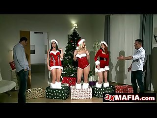 Christmas sex party amarna miller blanche bradburry tricia teen