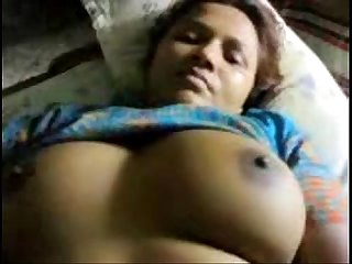 Desi aunty fucked 2 neighbours