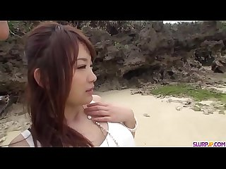 Adorable outdoor Blowjob by sexy mayuka akimoto more at slurpjp com
