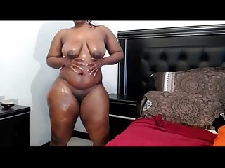 Thick Ass Oily African Woman
