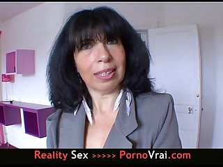French amateur mature sex addict enculee a sec