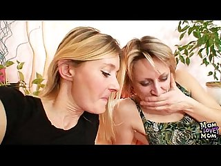 Two mature Amateur milfs lesbian first time Video