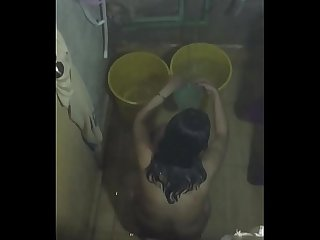 desi pakistani big boobs sister in shower caught hidden cam