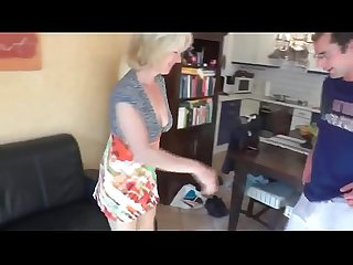 Milf gets Fuck and Cum in her Ass from Boy