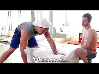 Manroyale Straight stud aspen goes deep in john darling s Ass