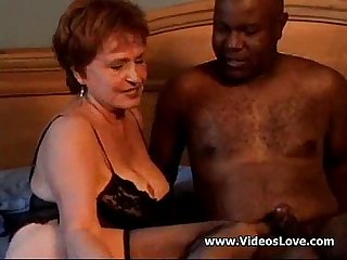 Hot redhead Aunt takes bbc