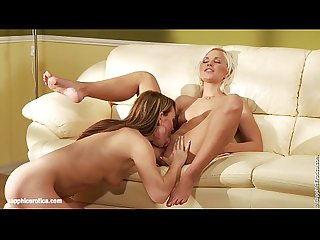 Anal Lapping with Lila and Jessica having lesbian fun by Sapphic Erotica