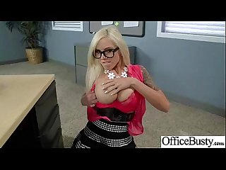 Sex In Office With Busty Nasty Cute Girl (nina elle) clip-24
