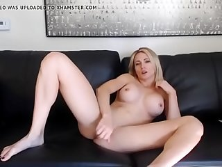 Blonde MILF Playing on Cam for Sons Friends chat with her chatcams.life