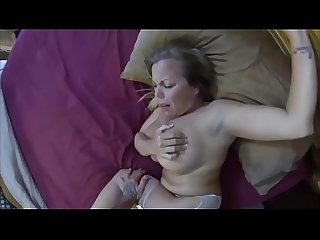 Strong stepson get what he want from stepmom and creampie - morw videos like this at :..