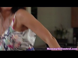 Raven milf doubleblowjob session ffm