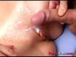 Belle espagnole orgasme enorme avec 2 mecs french amateur
