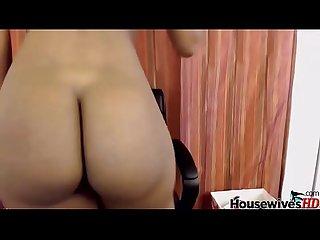 Big booty ebony wet pussy solo fucking