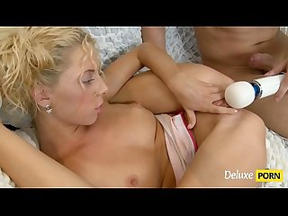 First Time Fuck For A Super Hot Blonde Teen