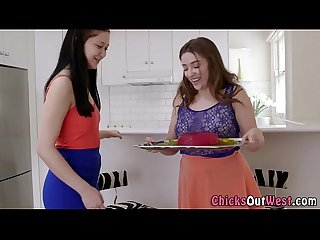 Aussie lesbo pussy eaten