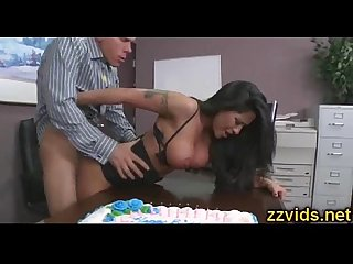 Latin beauty jenaveve jolie office hardcore
