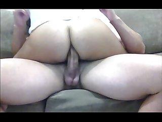 Morena viciada no anal