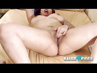 Lady Fern - Flirt4Free - Sexy Chubby Latina is Open to Stuffing Both Her Holes