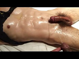 Boys massage with piss N cum Yummy