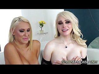 Gorgeous tgirl fucks babe