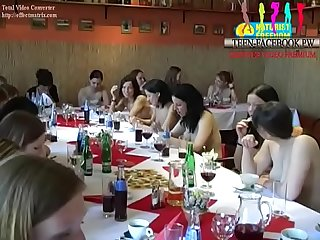 Naked art of body art family naturism clip1