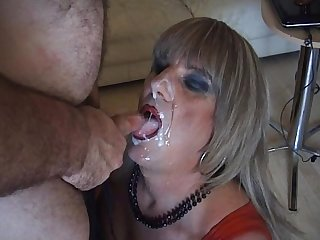 Filthy british mature transvestite whore preview